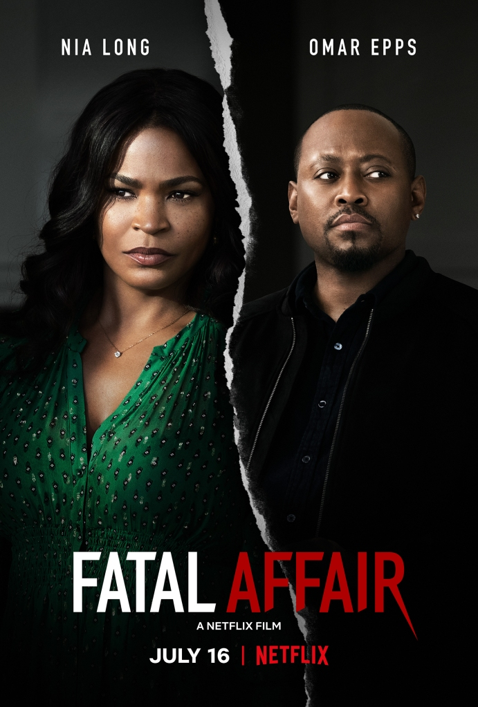 Fatal Affair, Nia Long & Omar Epps Key Art