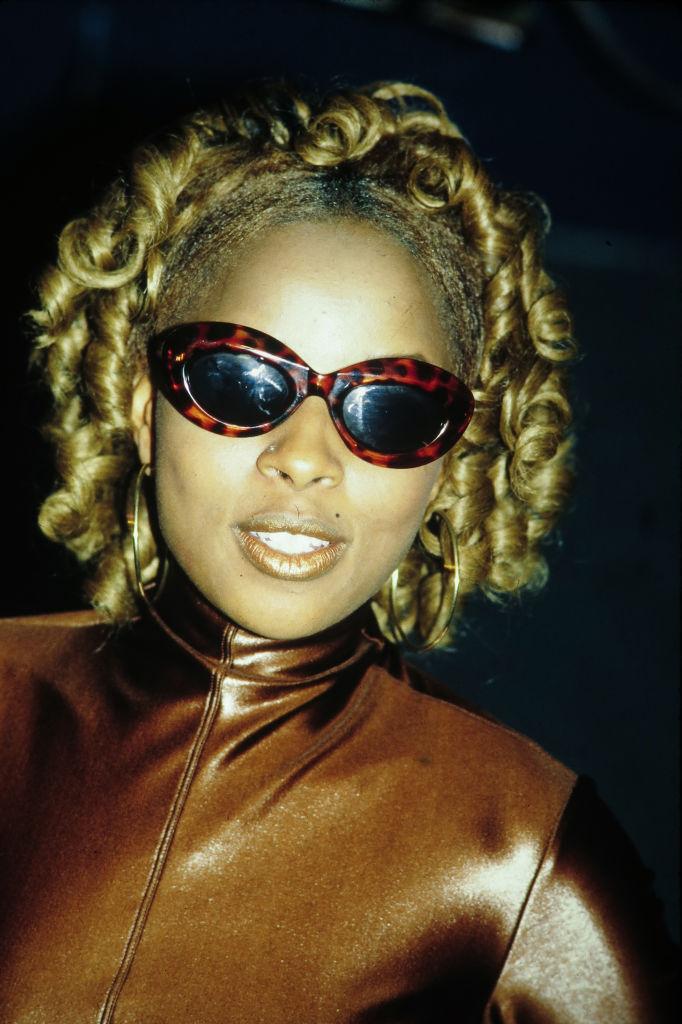 Mary J Blige At New York Music Awards