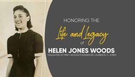 Helen Jones Woods tribute