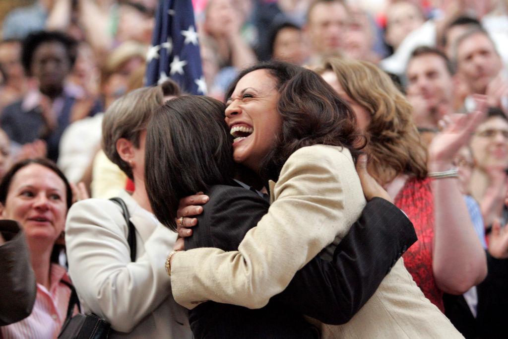 Maya and Kamala Harris celebrate gay marriage ruling