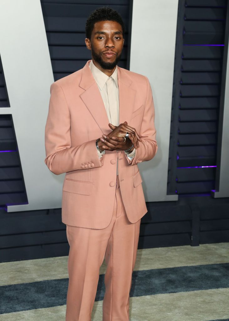 (FILE) Chadwick Boseman Dead at 43 After Battle With Colon Cancer. BEVERLY HILLS, LOS ANGELES, CALIF...