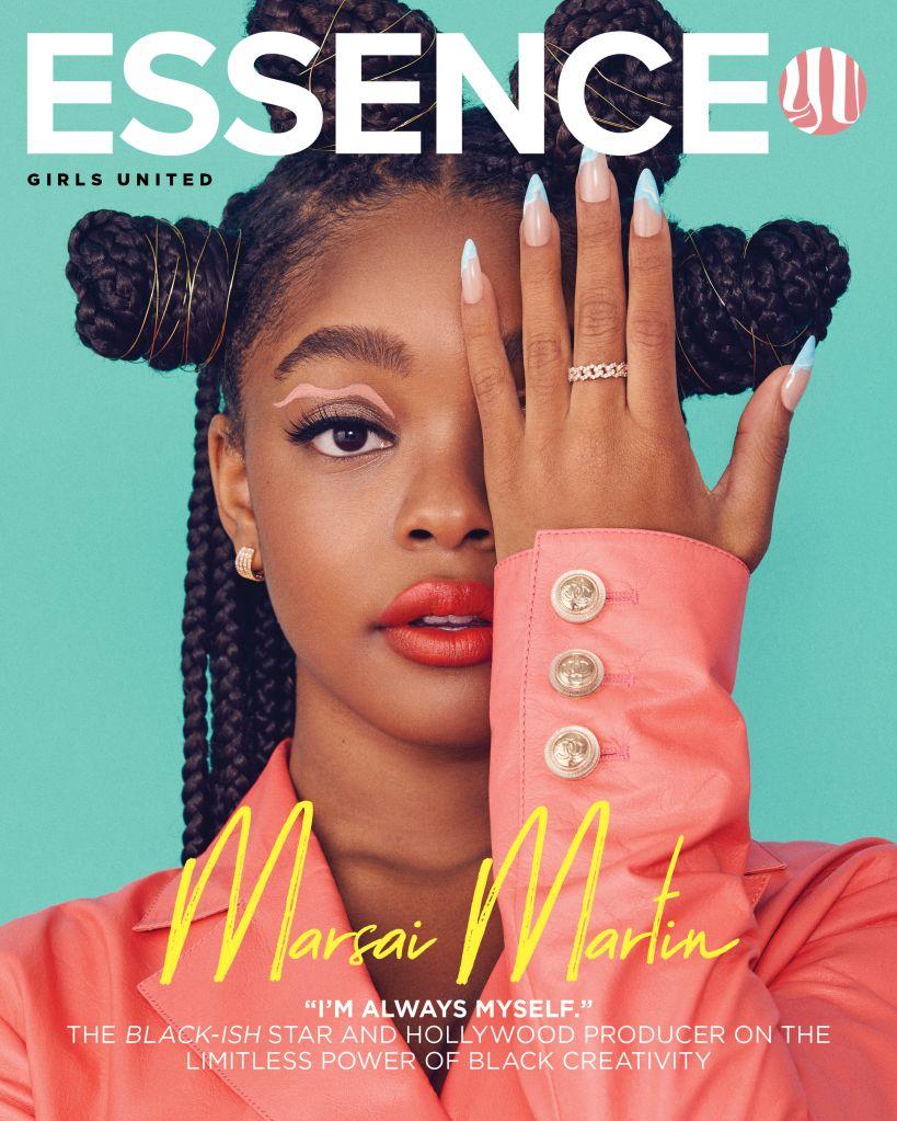 Marsai Martin Essence cover