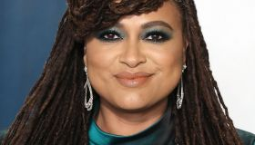 Ava DuVernay arrives at the 2020 Vanity Fair Oscar Party held at the Wallis Annenberg Center for the...