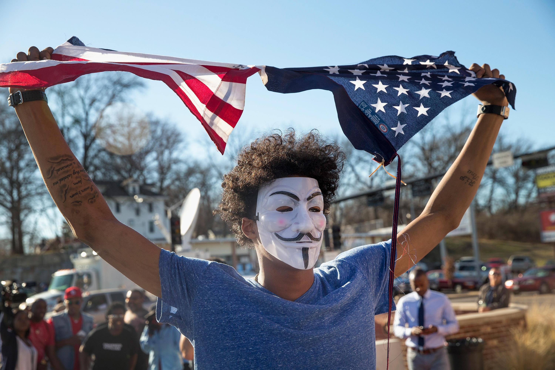 Ferguson Protestor