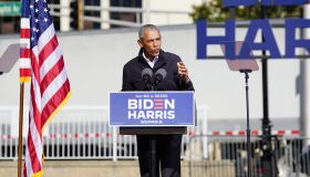 Barack Obama at Biden-Harris rally in Atlanta, Georgia