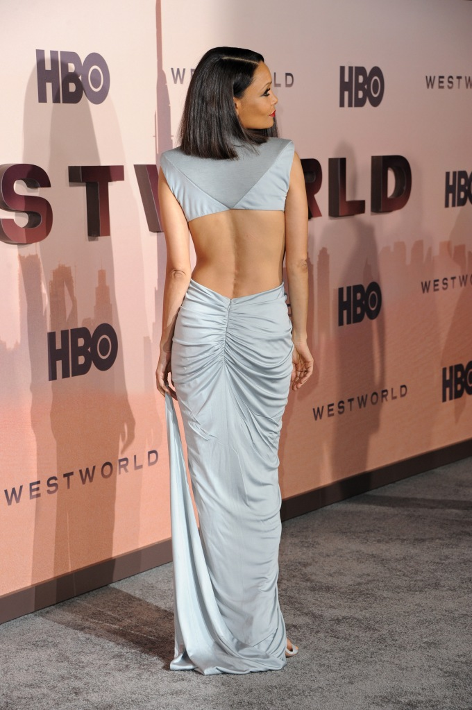 Thandie Newton at the HBO's 'Westworld' Season 3 premiere held at the TCL Chinese Theatre in Hollywood, USA on March 5, 2020.