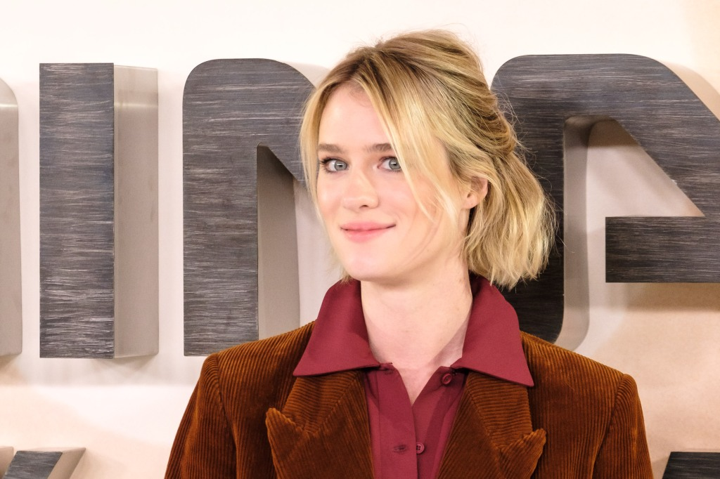 Mackenzie Davis poses at Photocall for TERMINATOR: DARK FATE on Thursday 17 October 2019