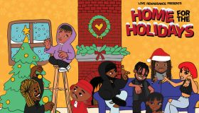 LVRN Home For The Holidays Album Artwork