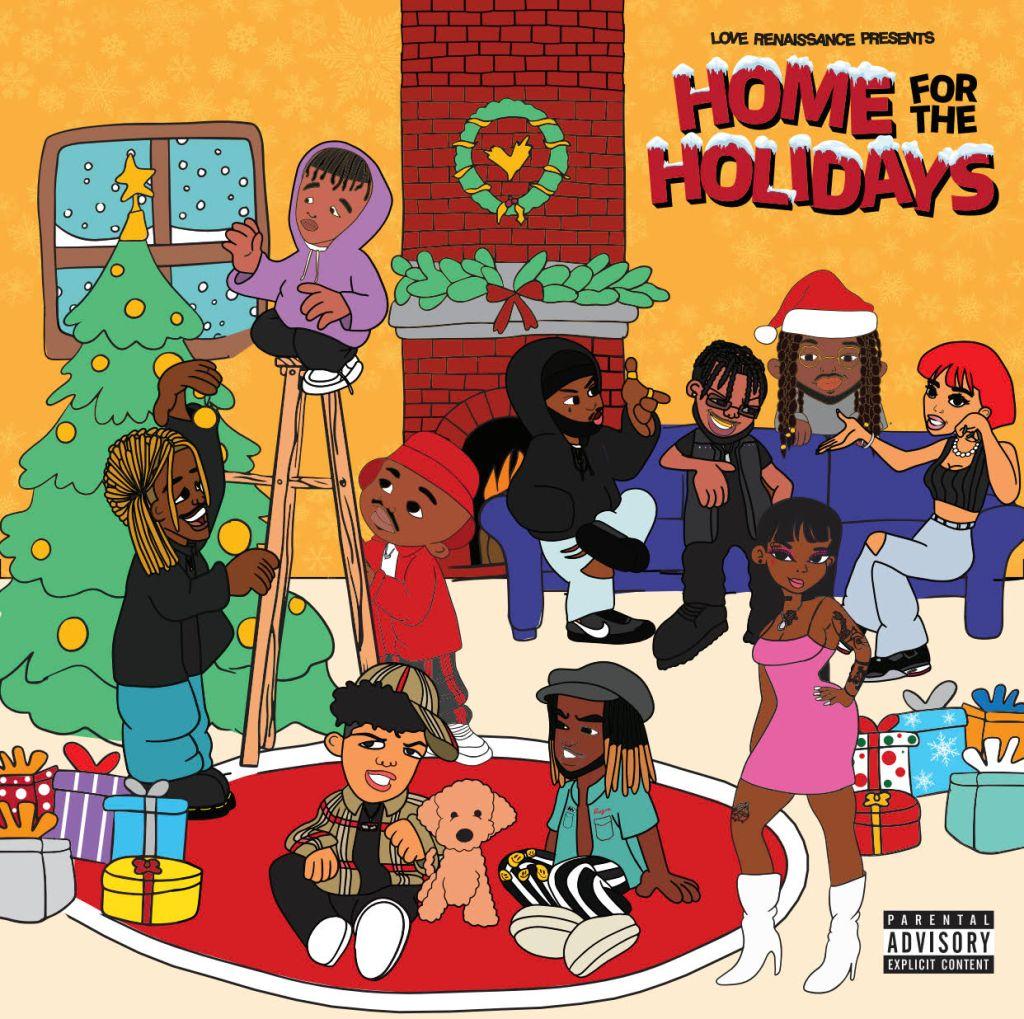 LVRN Home For The Holidays Album Artwork