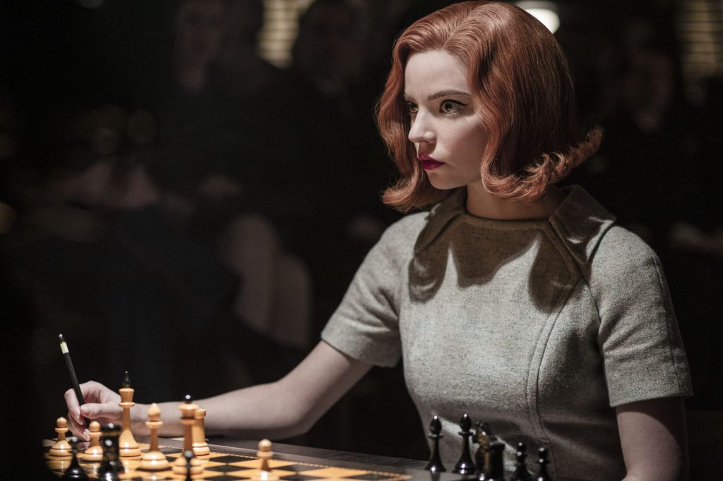 Actress Anya Taylor-Joy in the 'The Queen's Gambit'