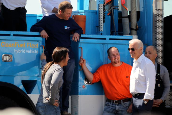 Vice President Joe Biden visits PG&E