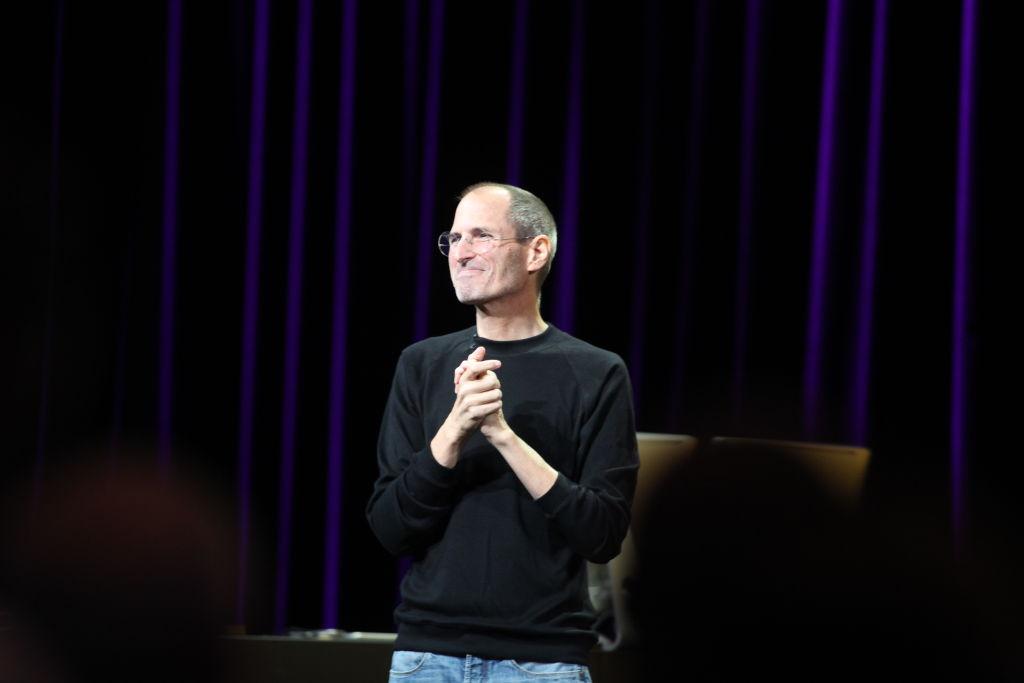 Apple's Steve Job announced the new iSO 4.2, iPlay, Ping, Apple TV, iPad, iPod Shuffle, and iPod Nano Wednesday September 1, 2010 at the Yerba Buena Arts Center in San Francisco. (Maria J. Avila Lopez/Mercury News)