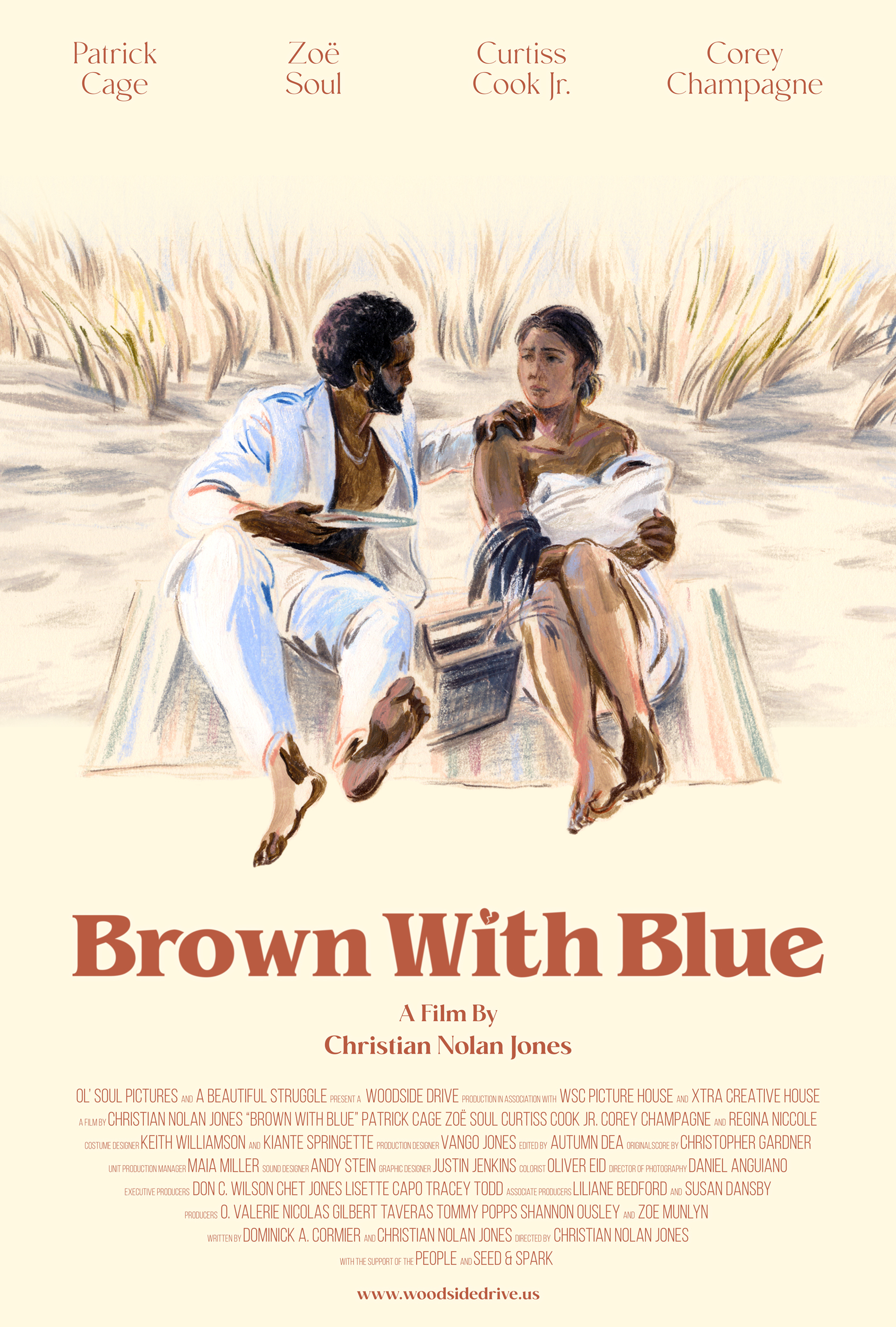 Brown With Blue movie poster