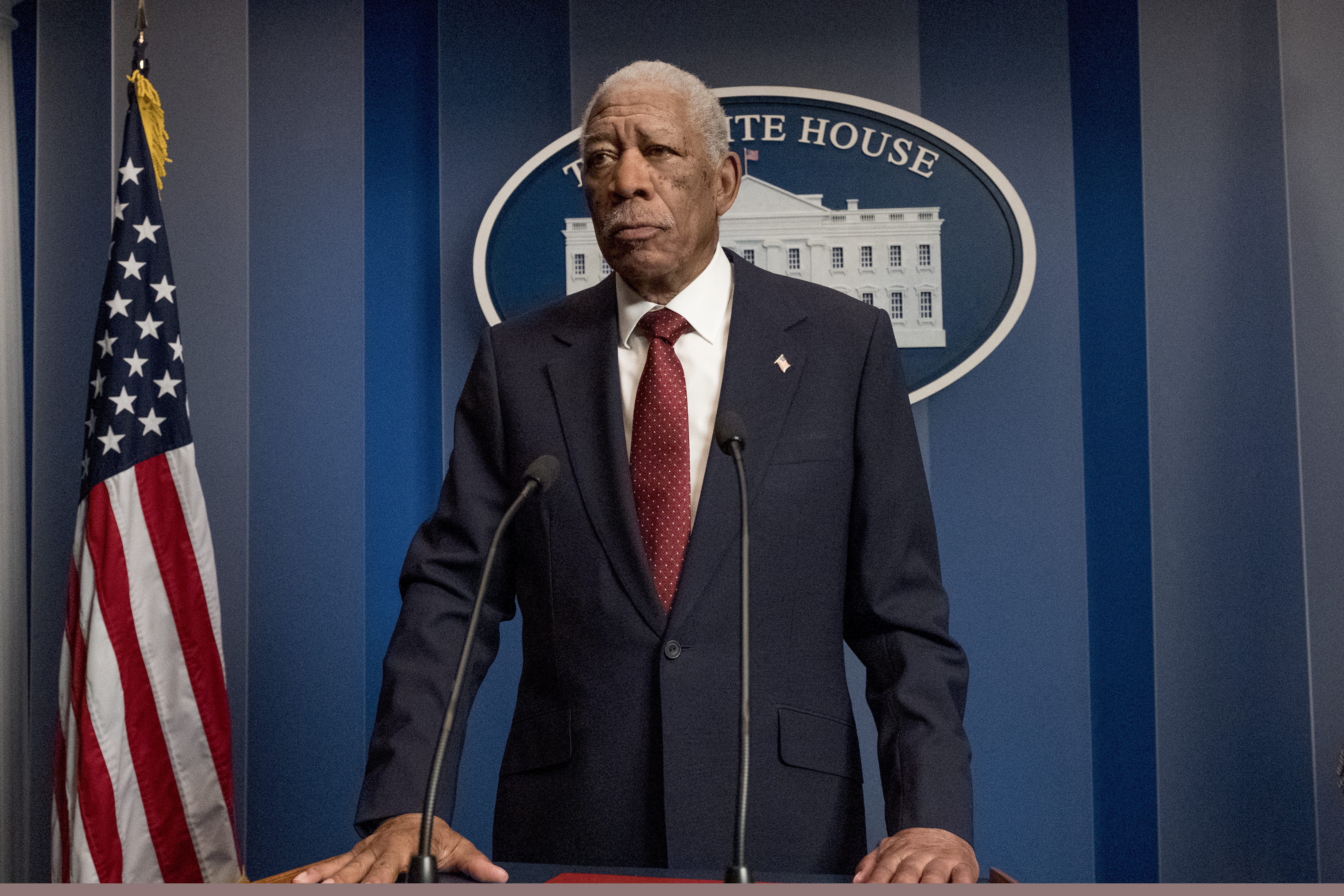 Key Art, Images and Posters From 'Angel Has Fallen' starring Morgan Freeman, Gerard Butler and Jada Pinkett-Smith
