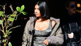 Kim Kardashian Steps out
