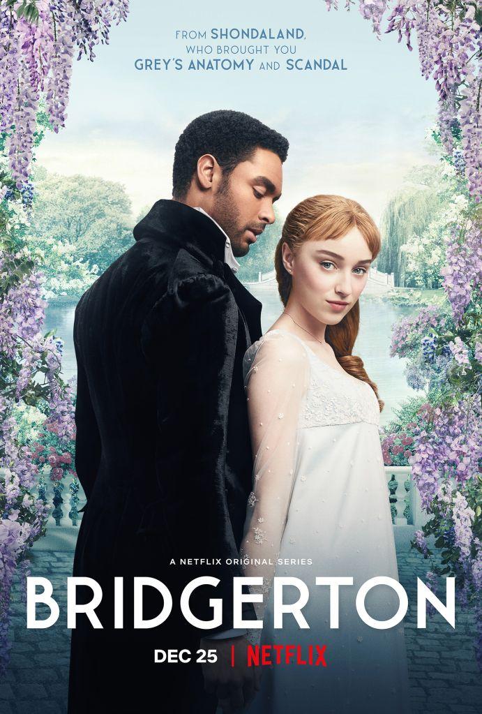 Key art for Netflix series Bridgerton