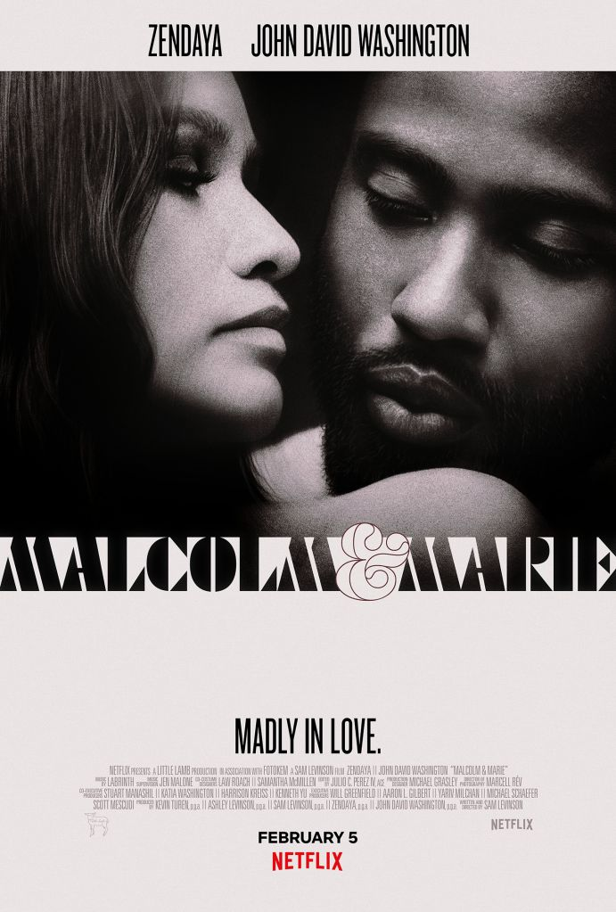 Malcolm & Marie key art
