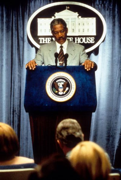 Morgan Freeman In 'Deep Impact'