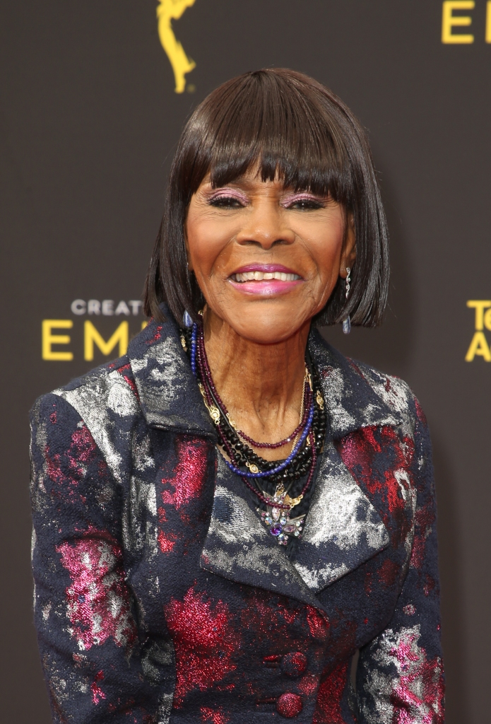 Cicely Tyson smiling at day 2 of the 2019 Creative Arts Emmy Awards
