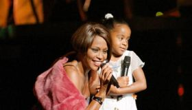 Whitney Houston & Daughter Onstage
