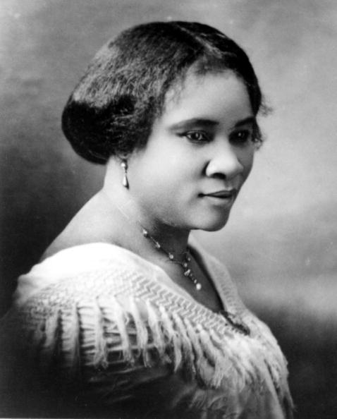 Portrait Of Madam CJ Walker