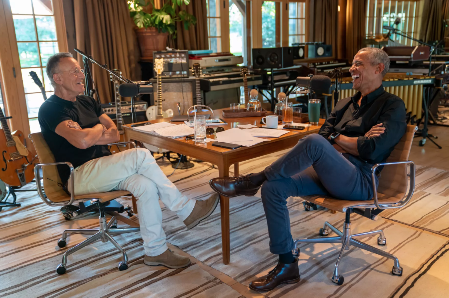 Barack Obama & Bruce Springsteen Spotify Podcast