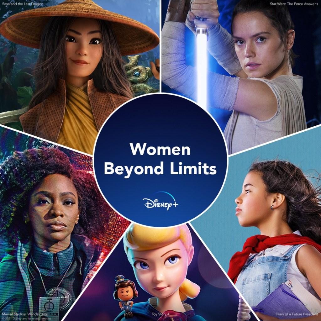 Disney Plus Female Leads Key Art