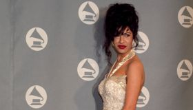 Selena Quintanilla Receives Grammy Award.