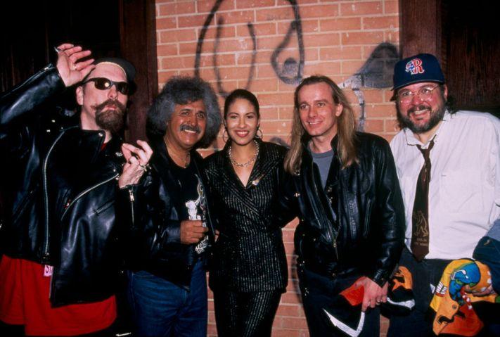 Selena Quintanilla Performs at Opening of Hard Rock Cafe.