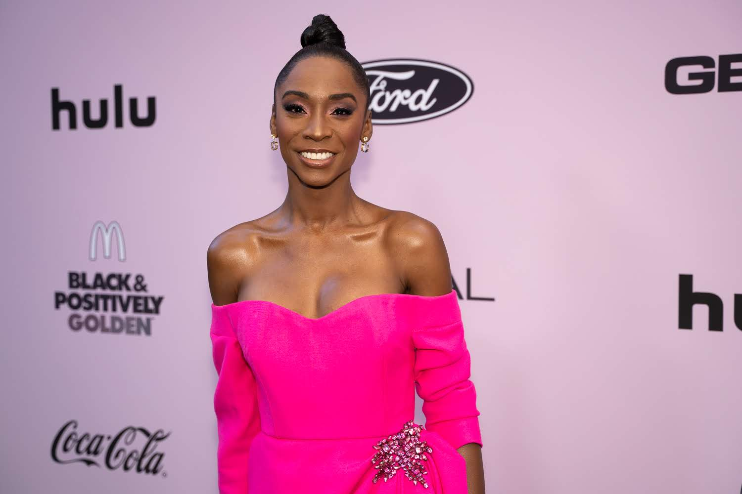 Angelica Ross attends Essence Black Women In Hollywood