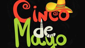 Cinco de Mayo mexican poster. Hand drawn lettering. Vector illustration.