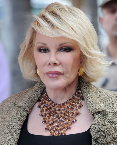 Joan Rivers on life support