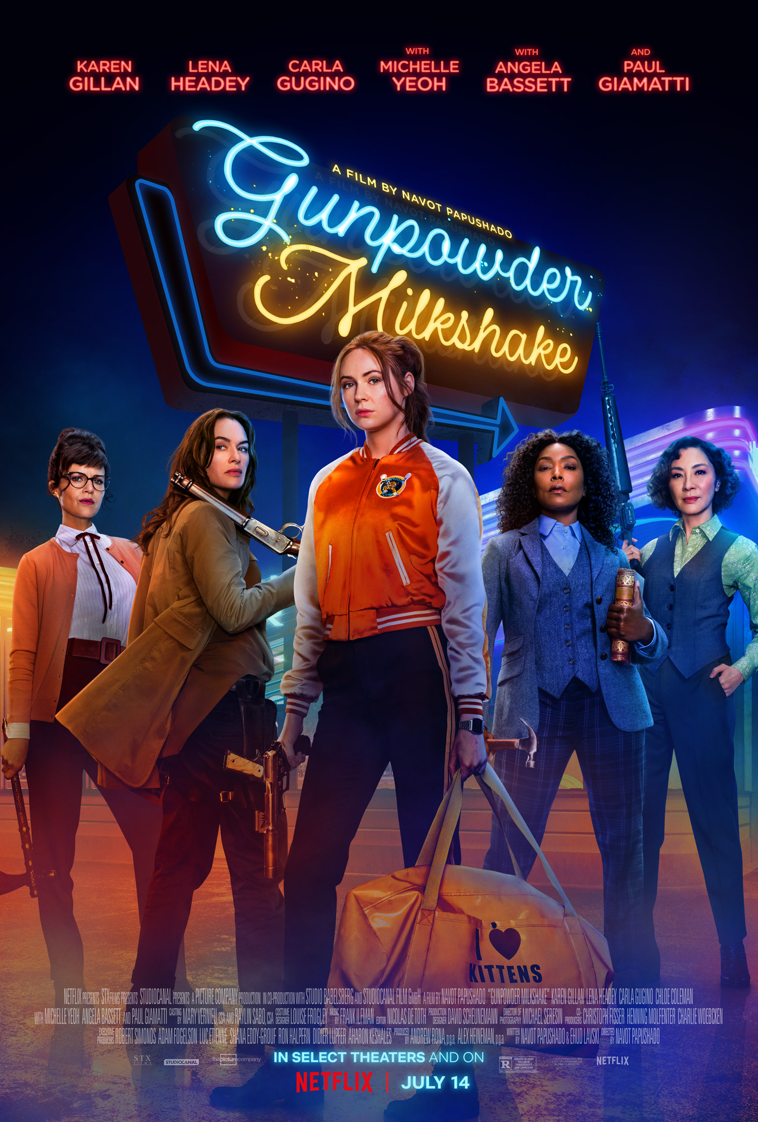 Gunpowder Milkshake, Netflix