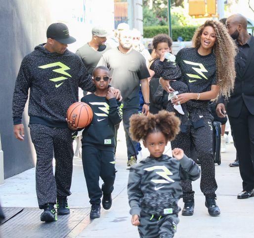 Ciara, Russell Wilson, Future, Sienna, Win in NYC
