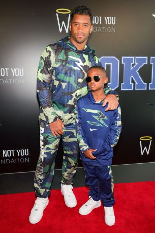 Russell Wilson & Ciara Launch 3Brand At Rookie USA Flagship