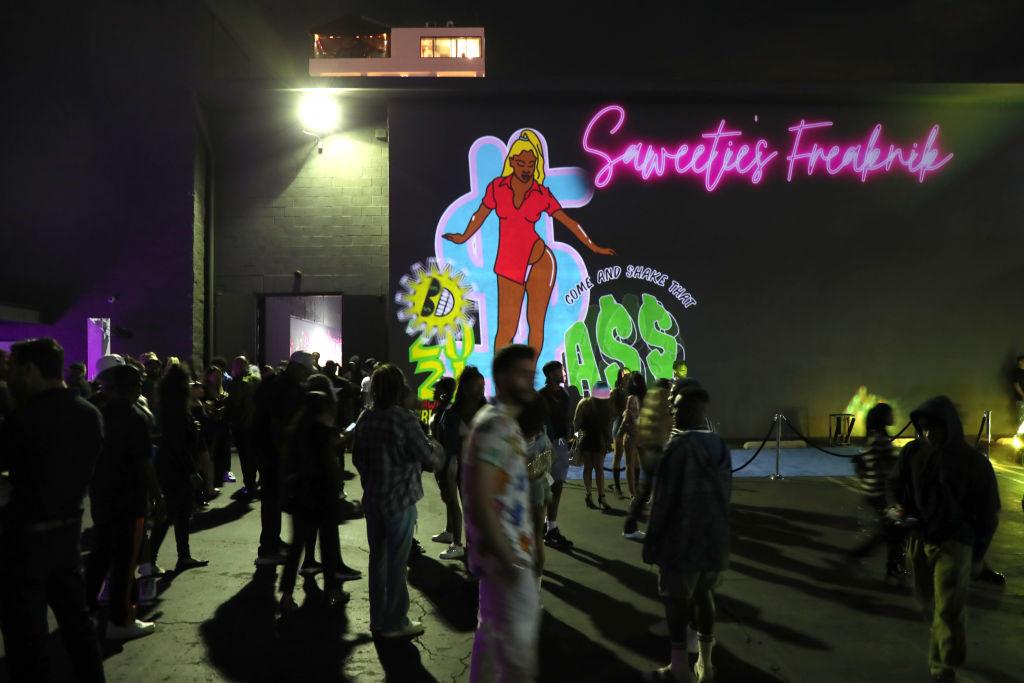 Saweetie's Birthday Freaknik