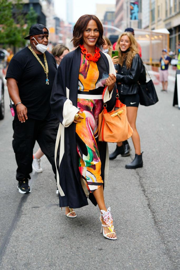 Celebrity Sightings In New York City - July 13, 2021