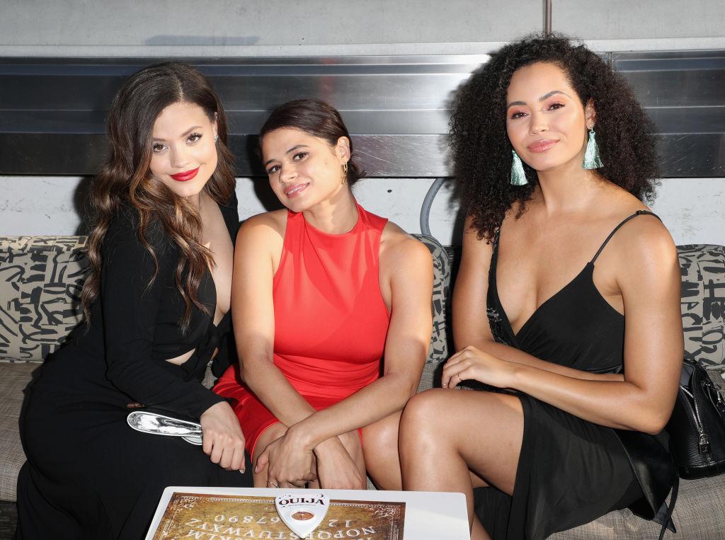 'Charmed' reboot actresses Sarah Jeffery, Melonie Diaz and Madeleine Mantoc