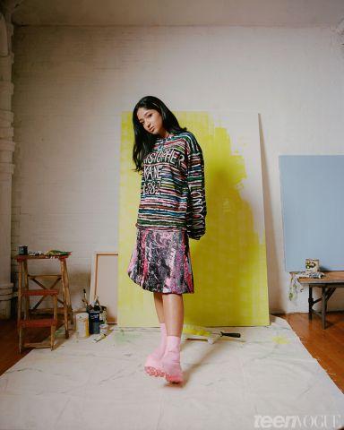 Maitreyi Ramakrishnan for Teen Vogue