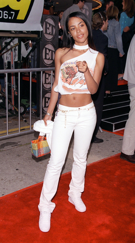 File Photo - Singer Aaliyah dies at 22 in Bahamas plane crash