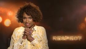 Jennifer Hudson on Aretha Franklin Movie 'RESPECT'