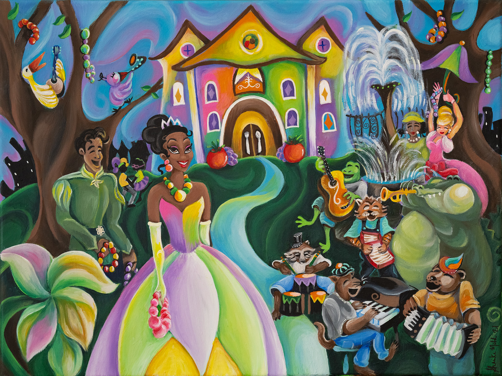 Princess and the Frog Disney Attraction