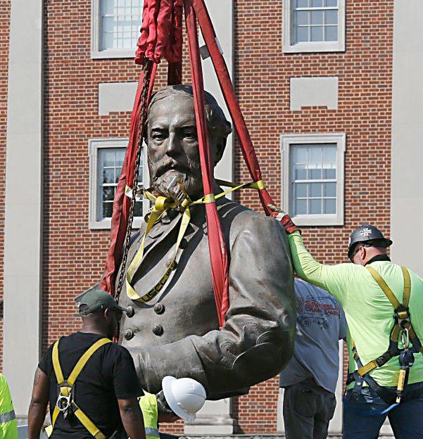 Richmond, Virginia Removes Statue Of Confederate General Robert E. Lee
