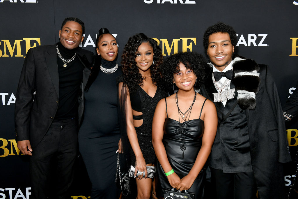 The cast of BMF at the World Premiere Screening And Concert Event