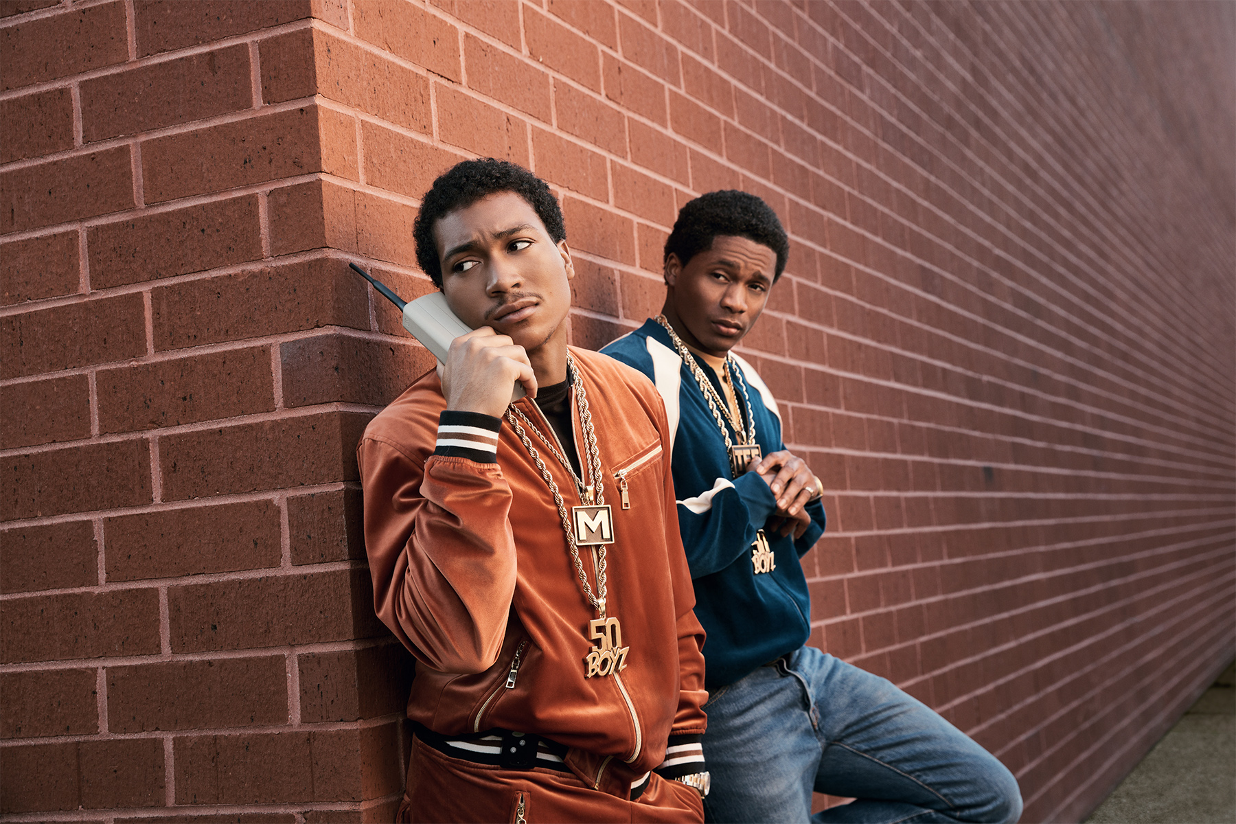 Demetrius Flenory Jr. and Da'Vinchi star in 'BMF'