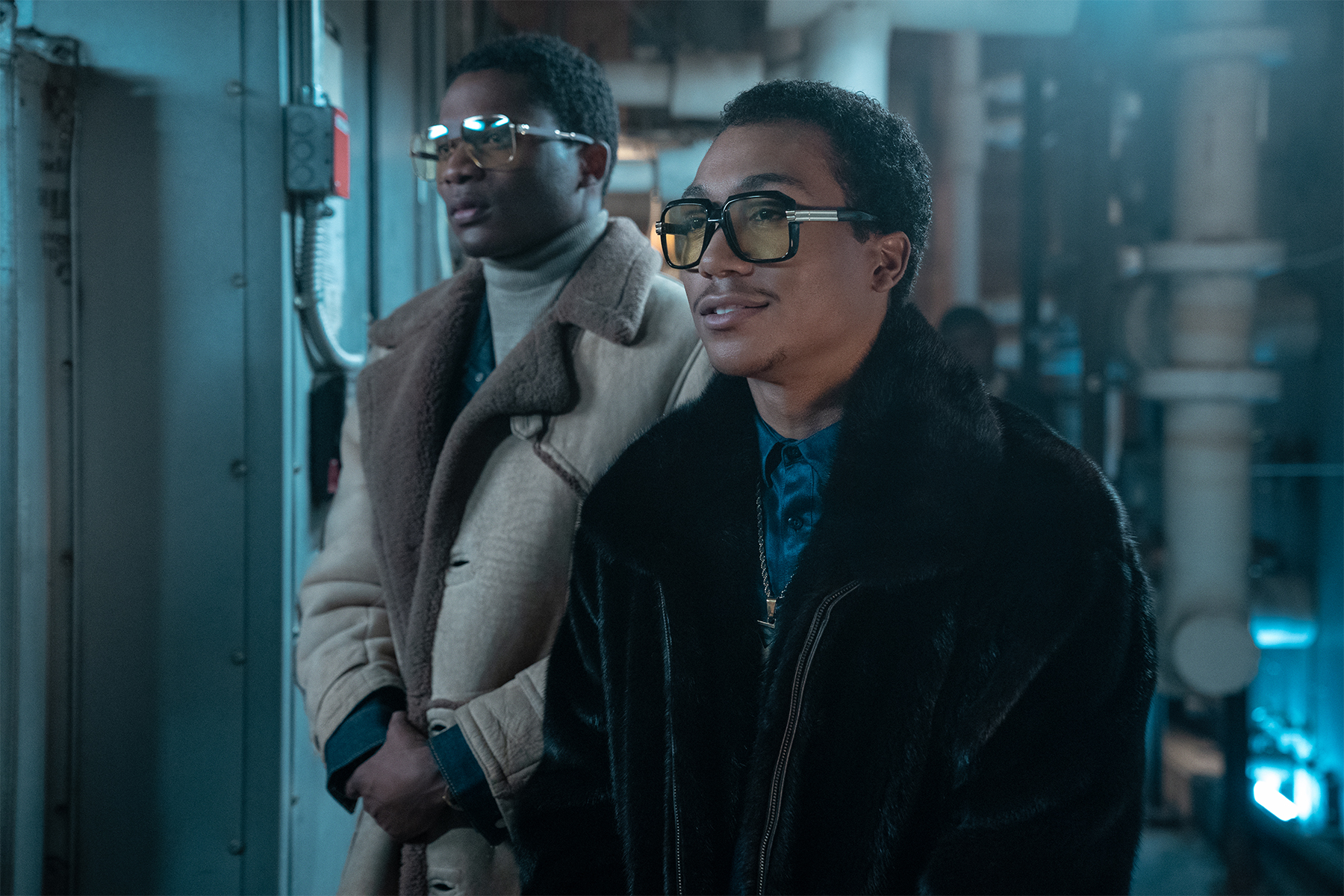 Demetrius Flenory Jr. and Da'Vinchi star as Big Meech and Southwest T in 'BMF.'