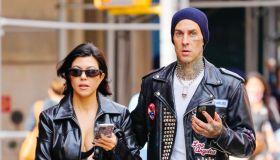 Celebrity Sightings In New York City - October 16, 2021